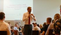 Christian Lindner, MdB, an der Universität Regensburg
