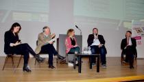 Maira Madala, Dr. Ekkehard Griep, Peter Schumann, Susanne Prechtl und Ulrich Lechte