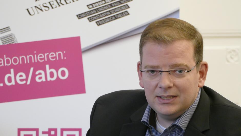 Ulrich Lechte, FDP Vorsitzender Regensburg