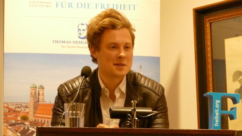 Stefan Windberger, International Officer bei NEOS
