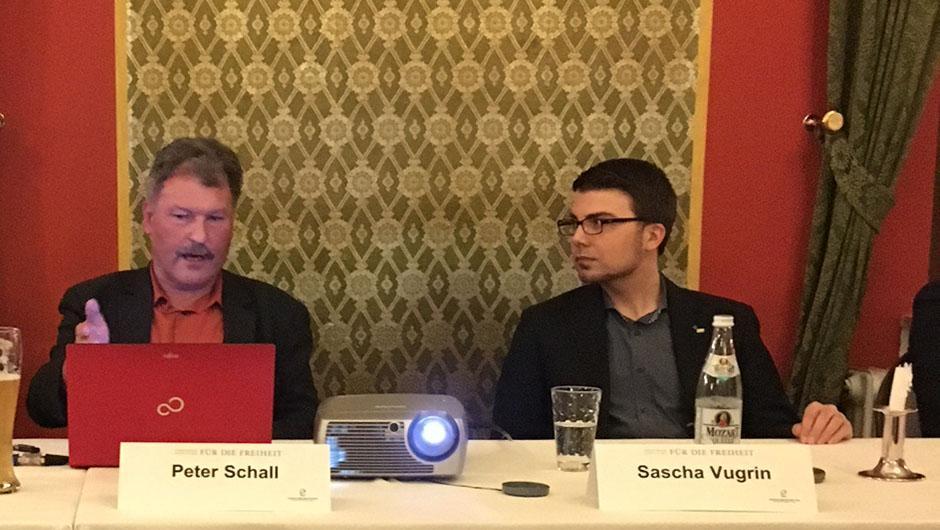 Peter Schall und Sascha Vugrin