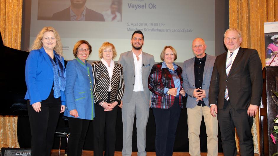 Verleihung des Thomas-Dehler-Preises an Veysel Ok