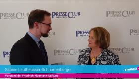 Sabine Leutheusser-Schnarrenberger über politische Haltung